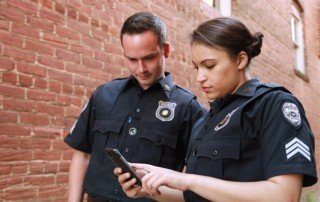 police looking at your social media